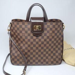 💯 Auth Louis Vuitton Roseberry Damier Ebene Bag